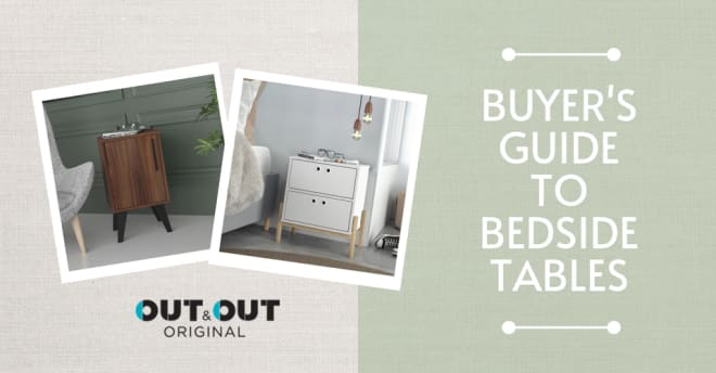 A Buyer's Guide to bedside tables