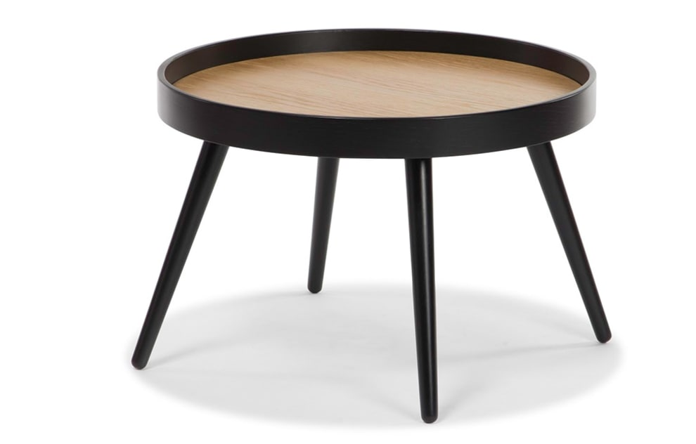 Amsterdam – Black Round Side Table