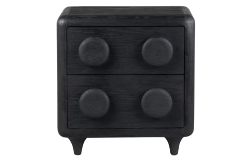 Button - Oak Chest of Drawers