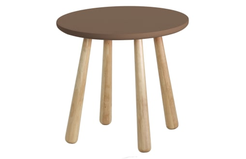 Catana - Round Side Table - Brown
