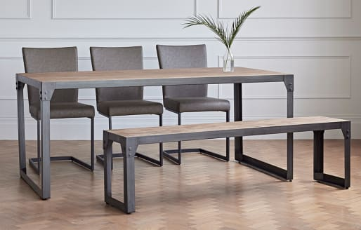 Varna - Dining Set with Bench