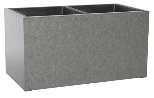 65cm Wide Concrete Planter with Two Sections