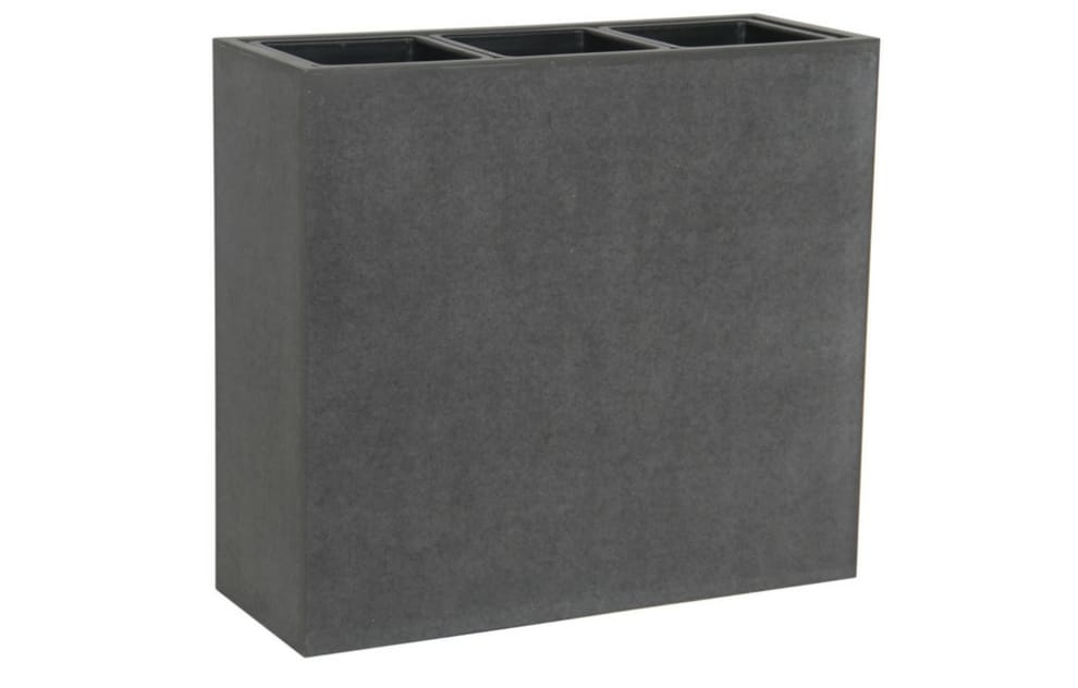 62cm High  Concrete Planter with Three Sections