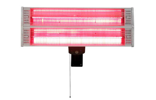 Zurich - 2400w Wall Mounted Electric Patio Heater - Deluxe